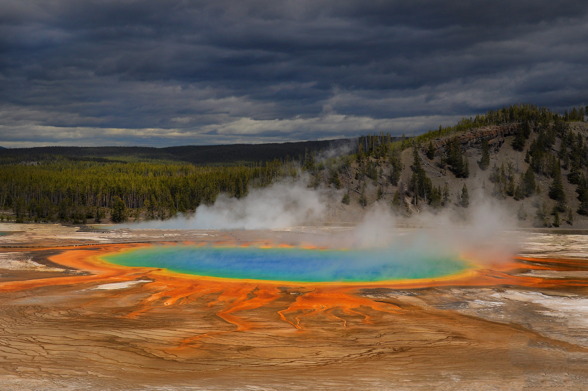 Grand Prismatic Spring (Yellowstone NP, USA) © Roland Schweizer