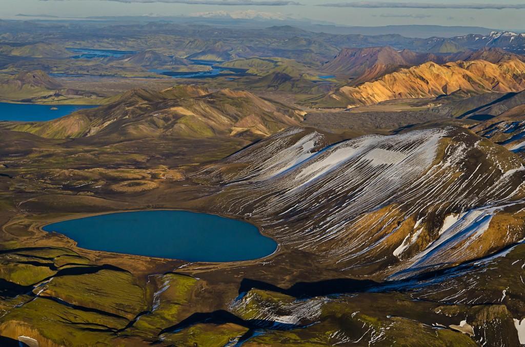 Erster Schnee im Fjallabak (Island) © Roland Schweizer