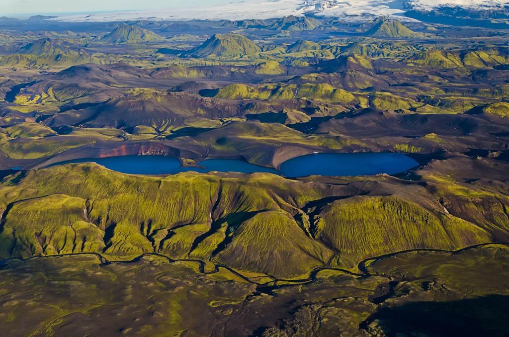 Fjallabak (Luftbild, Island) © Roland Schweizer