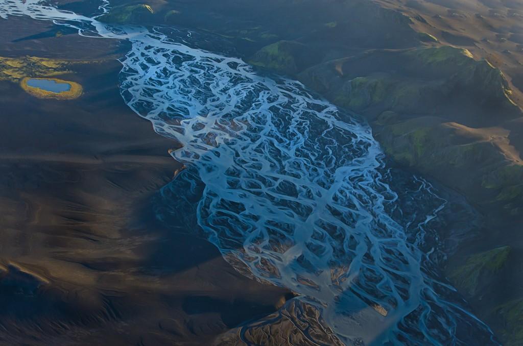 Lebensadern (Fjallabak, Island) © Roland Schweizer