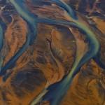 Farbiger Sanderfluss (Island) © Roland Schweizer
