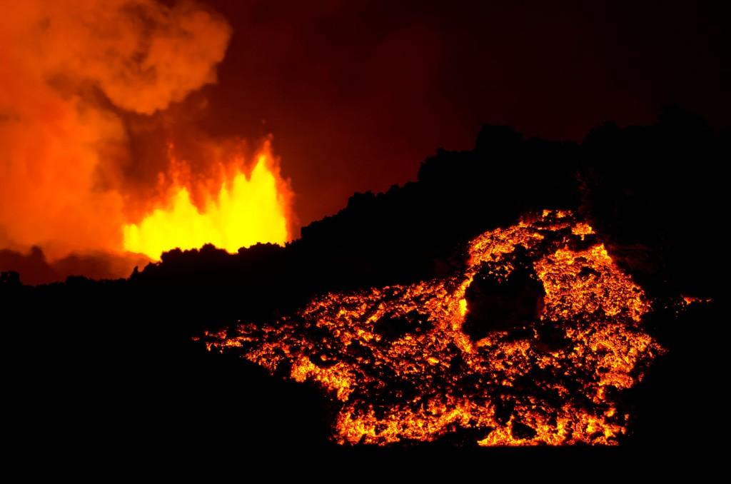 Magma Bardarbunga (Island) © Roland Schweizer