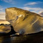 Golden Ice (Island) © Roland Schweizer